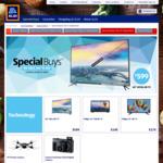 "60"" BAUHN Ultra HD TV $599, High Pressure Washer $99, Paint Compressor $39, Plasterboard Sander $149 @ ALDI"