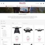 20% off Entire Weber Range (e.g. Weber Family Q (Q3100AU) $591.20) + Shipping or Free in-Store Pickup @ Rays