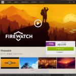 [Win/Mac/Linux] Firewatch $4.99AUD - GOG.com