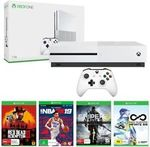 Xbox One S 1TB Console + Red Dead Redemption 2 + NBA 2K19 + 2 Extra Games Bundle $350.50 + Delivery @ The Gamesmen eBay