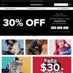 30% off Almost Everything Black Friday Sale at Converse Australia b5232c365