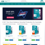 50% off ESET Internet Security 1 User 1 Year ($29.98)
