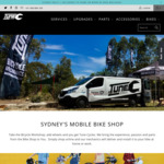 Free Premium Bicycle Service with Any Web Order over $500 by Tune Cycles - Sydney Only