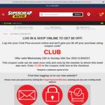 $5 off $10 Spend @ Supercheap Auto [Club Members]