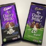[NSW] Dairy Milk with CC's Original or Kettle Sea Salt - 190g Bars $0.50 @ Coles (Macquarie Park)