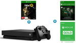 Xbox One X 1TB Console + 3 Months Game Pass + 3 Months Xbox Live Gold Subscription + Bonus Fallout 76 - $568 @ Harvey Norman