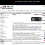 Denon 7.2 Channel AV Receiver AVR-X3500H $1499 (RRP $1999) @ Clef Hi-Fi