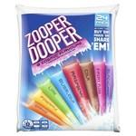 ½ Price Zooper Dooper Varieties 24 Pack $2.50 @ Coles