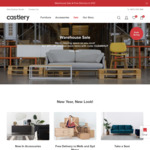 20% off Select Furniture (e.g Porter Sofa Bed $255.20, Chelsea TV Console $799.20) Plus Free Delivery to Select Areas @ Castlery