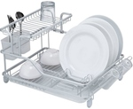 2 Tier Aluminium Alloy Rustproof Dish Rack Drainer $39.95 + $15 Shipping @ My Deal