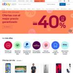 eBay Spain 10% off via eBay Mobile App