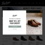 20% off Everything @ Florsheim Shoes