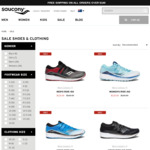 Running Shoes up to 50% off Selected Styles + $10 Delivery (Free for Order over $100) @ Saucony