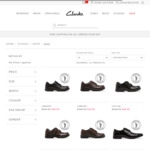 20-60% off Selected Clarks School Shoes ($9.95 Shipping, Free over $99 Spend) @ Clarks