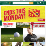 Extra 10% off Clearance Items @ GolfBox