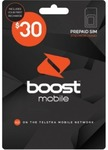 $30 Boost SIM Kit for $15 @ Coles