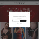 Lingerie Sale: Nothing over $20 on Entire Store + Free Shipping on Orders over $30 @ NEXXT TO SKIN