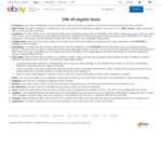 10% off Eligible Items (Minimum $100 Spend, $500 Max Discount) @ eBay