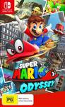 [Switch] Super Mario Odyssey - $52.99 Delivered @ Amazon AU
