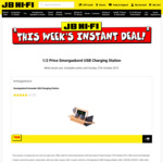 1/2 Price Smorgasbord USB Charging Stations from $59.50 + Delivery Only @ JB Hi-Fi