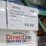[VIC] Singleton Malt Master Single Malt Scotch $48.99 @ Costco Epping (Membership Required)