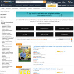 Black Friday Deals (up to 55% off Selected Books, 50% off Audible Membership + More) @ Amazon AU