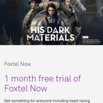 Free Foxtel Now for 1 Month - All Packs - New Signups Only (Telstra Postpaid Customers)