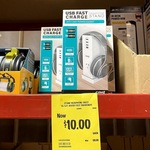 Crest USB Fast Charge Headphone Stand $10 @ Bunnings