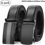 Men's Leather Belt - US $24.00 / AU $34.91 Delivered + Free Gift (50 Pieces) @ JASGOOD (HK)