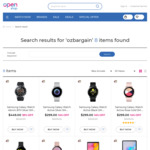 Samsung Galaxy Watch Active 2 44mm ($404.10), Galaxy Watch Active ($269.10) + More (Free Delivery) @ Openshop