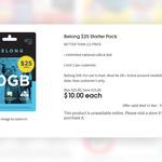 Belong $25 Starter Pack for $10 @ Coles