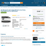 HP OfficeJet Pro 9012 $140 + Delivery (from $26.52) @ PB Tech