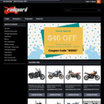 $46 off Minimum $150 Spend (Motor Bike Accessories) @ Radguard