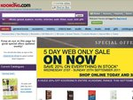 Koorong 5 Day Web Only Sale - 20% off Everything in Stock (21-25 September 2011)