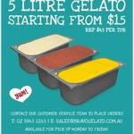 [NSW] 5L Gelato from $15 (Normally $45) Pickup @ Bravo Gelato, Rydalmere