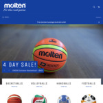Molten D4000 Outdoor Basketball - $40 Delivered (RRP - $109.95) @ Molten Australia