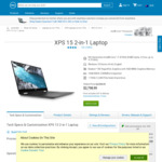 Dell XPS 15 2 in 1 (Core i7-8705G, 16GB RAM, 1TB SSD,  Radeon RX Vega M GL Graphics) $2798.99 Delivered @ Dell