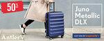 54% off Antler Juno Metallic Medium Suitcase $141.55 Delivered @ Bagworld