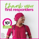 First Responders Day: 10% off Storewide @ Priceline (in Store Only)