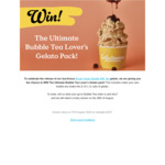 Win a Bubble Tea Gelato Pack from Gelatissimo