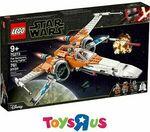 "[eBay Plus] LEGO Star Wars Poe Dameron's X-Wing Fighter 75273 $121.90 Delivered @ Toys ""R"" Us eBay"