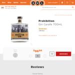 Prohibition Gin Carafe 700ml $81 C&C @ BWS