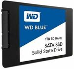 "[Sold out] [eBay Plus] Western Digital 1TB Blue SSD 2.5"" SATA Internal SSD $133.51 Delivered @ Futu Online eBay"