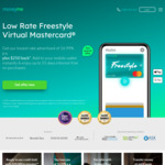Freestyle Credit Card - $250 Back with $1000 Spend @ MoneyMe (Annual Fee $0 - $149 | $5 Monthly Fee, if Balance More than $20)