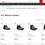 RM Williams Boots for $434.51 + 2000 Points ($15 Delivery) @ Qantas Store