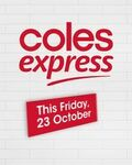 [VIC] Free Small Coffee (Normally $1) with Any Purchase (Including Fuel) on Fri Oct 23 @ Coles Express