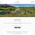 Bec Hardy SA Shiraz 2019. $58.50/6pk Delivered (RRP $102) by 5*Halliday Producer @ Bec Hardy Wines