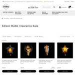 Clearance Sale: E27 Edison LED/ Filament Décor Light Bulb from $17.97 Delivered (40% off) at Lectory