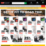 25% off Batteries and CB Comms @ Repco