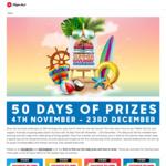Pizza Hut Golden Days of Summer Promotion - Win a $5,000 Aussie Roadtrip or 1,977 Prizes